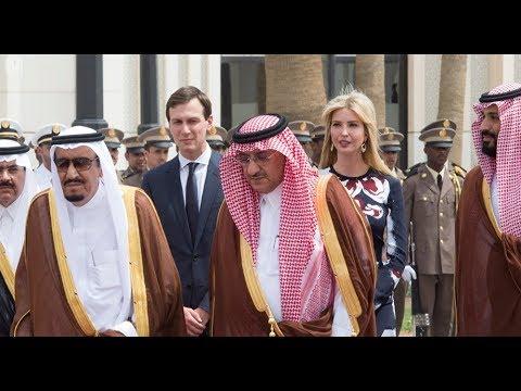 c158b1059  شاهد ايفانكا ترامب عند لقاء الملك سلمان وتقليد والدها وسام الملك عبدالعزيز