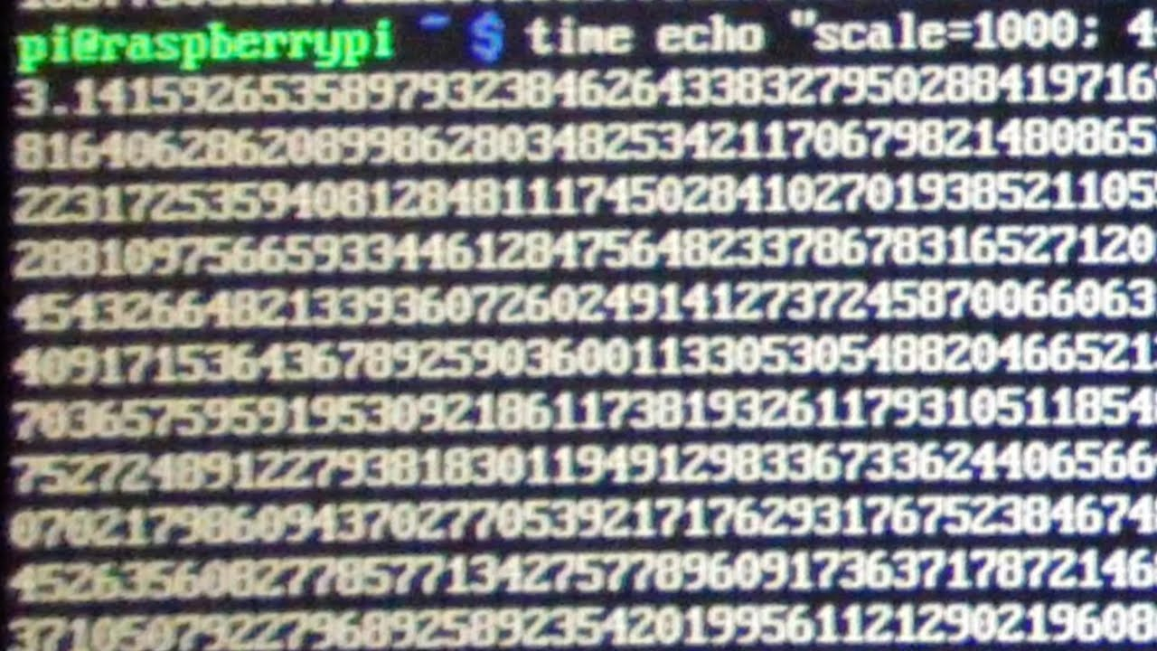 Happy Pi Day Calculating Pi On A Raspberry Pi