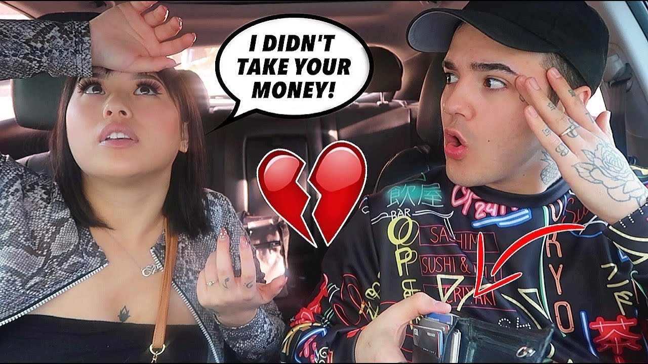 ACCUSING MY GIRLFRIEND OF STEALING!