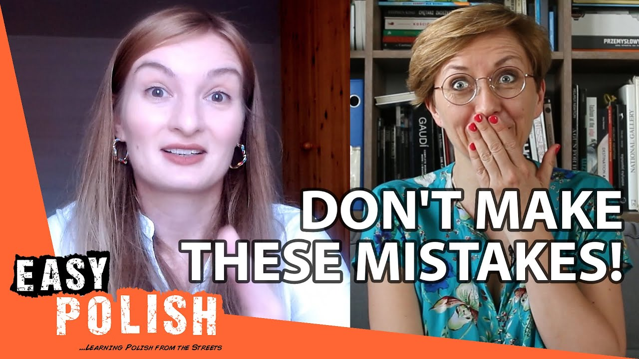 6 Common Mistakes Polish Learners Make | Easy Polish 138