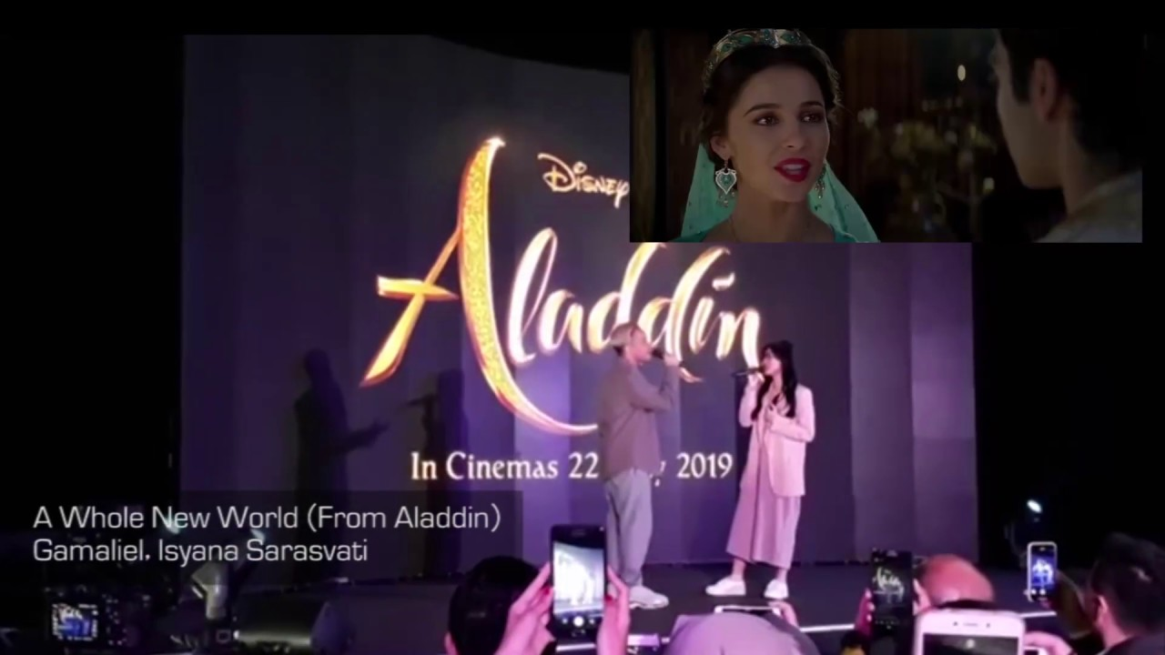 Gamaliel, Isyana Sarasvati - A Whole New World - From Aladdin