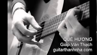 QUÊ HƯƠNG - Guitar Solo