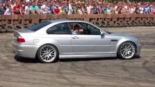 AUTO MOTO SHOW Skaryszew 2016 - BMW E46 330ci - Drift #8