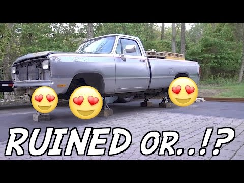 NEW WHEELS FOR THE CUMMINS FIRST GEN ARE HERE!!! DID WE RUIN THE TRUCK!?
