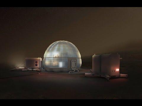 THE MARS ICE HOME