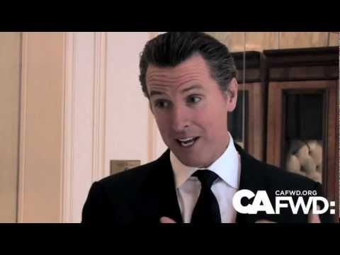 California economy made of 'two worlds' - Gavin Newsom