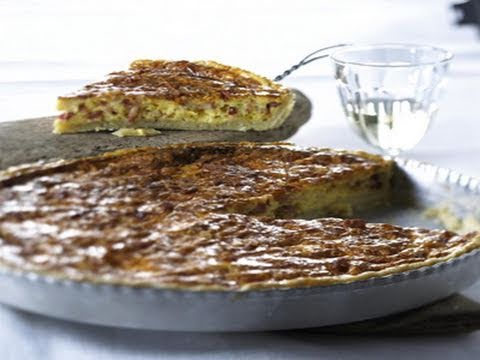 rezept quiche lorraine specktorte mit creme fraiche. Black Bedroom Furniture Sets. Home Design Ideas
