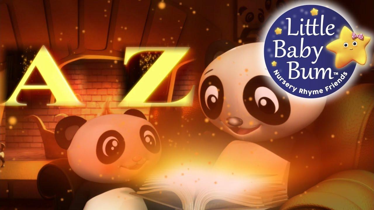 ABC Song   British Zed Version   Alphabet Song for Children   By LittleBabyBum!