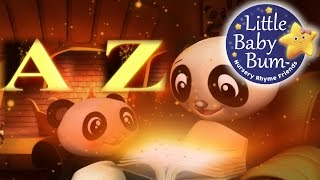 ABC Song | British Zed Version | Alphabet Song for Children | By LittleBabyBum!