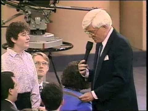"1993    PHIL DONAHUE SHOW Part 2 - ""Catholic Priest Sex Abuse""  Jason Berry, Barbara Blaine"