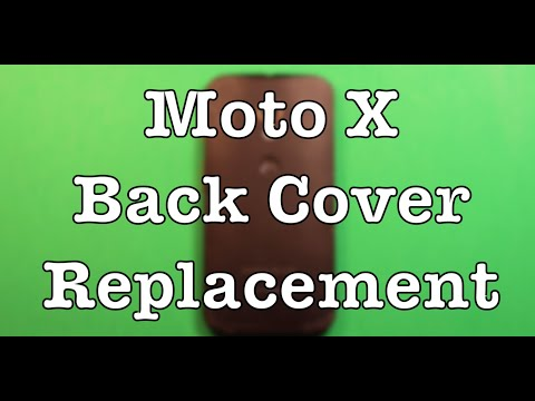 Moto X Back Cover Replacement How To Change