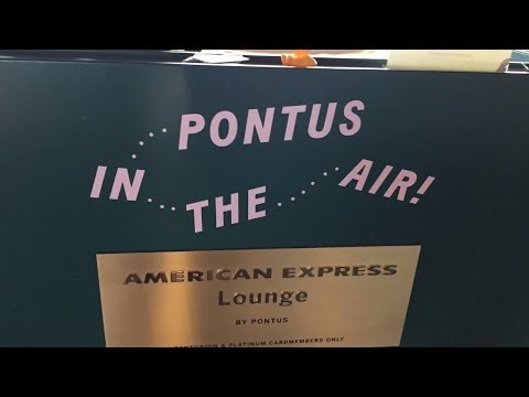 Pontus In The Air Lounge In Arlanda Stockholm Airport. Amex Platinum And Centurion Lounge