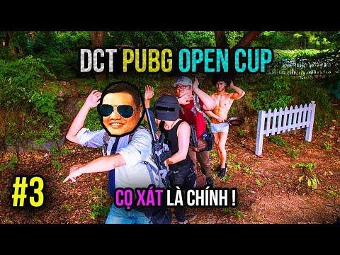 DCT PUBG OPEN CUP #3: TIẾN BÉO TINH VI ĐI THI VÀ CÁI KẾT =))