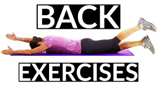 Beginners Back Exercises for Strengthening your Back Muscles