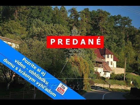V Humennom rodinný dom na predaj - Brestov  - PREDANÉ