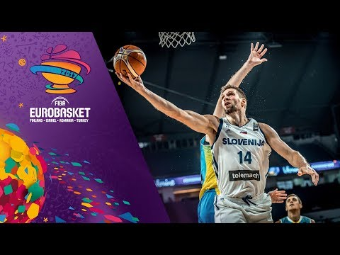 Slovenia v Ukraine - Full Game - Round of 16 - FIBA EuroBasket 2017