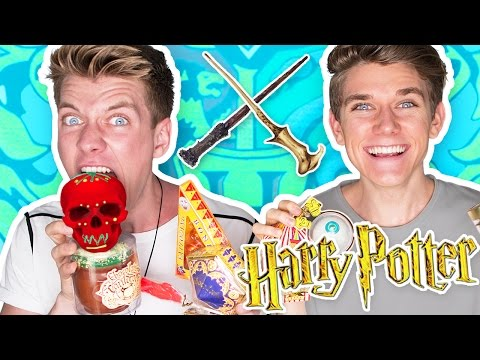 Thumbnail: TRYING HARRY POTTER CANDY + Bean Boozled Challenge 🔮 | Collins Key