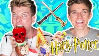 Siblings Try, Taste & Test HARRY POTTER CANDY but with a Bean Boozled Twist!! Thumbs Up if you want FREE CANDY!!!! WIN a MacBook, GoPros & MORE!