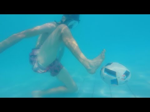 Can You Play Football UNDER WATER??
