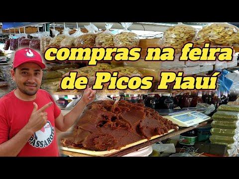 hoje foi dia de compras na feira livre de Picos Piauí