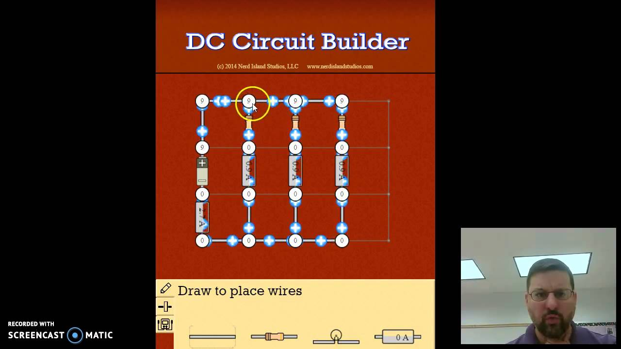 DC Circuit Builder: Parallel Circuits - YouTube