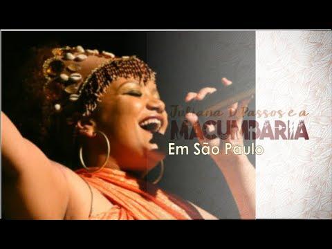 Juliana D Passos e a Macumbaria | São Paulo |Radio Toques de axé