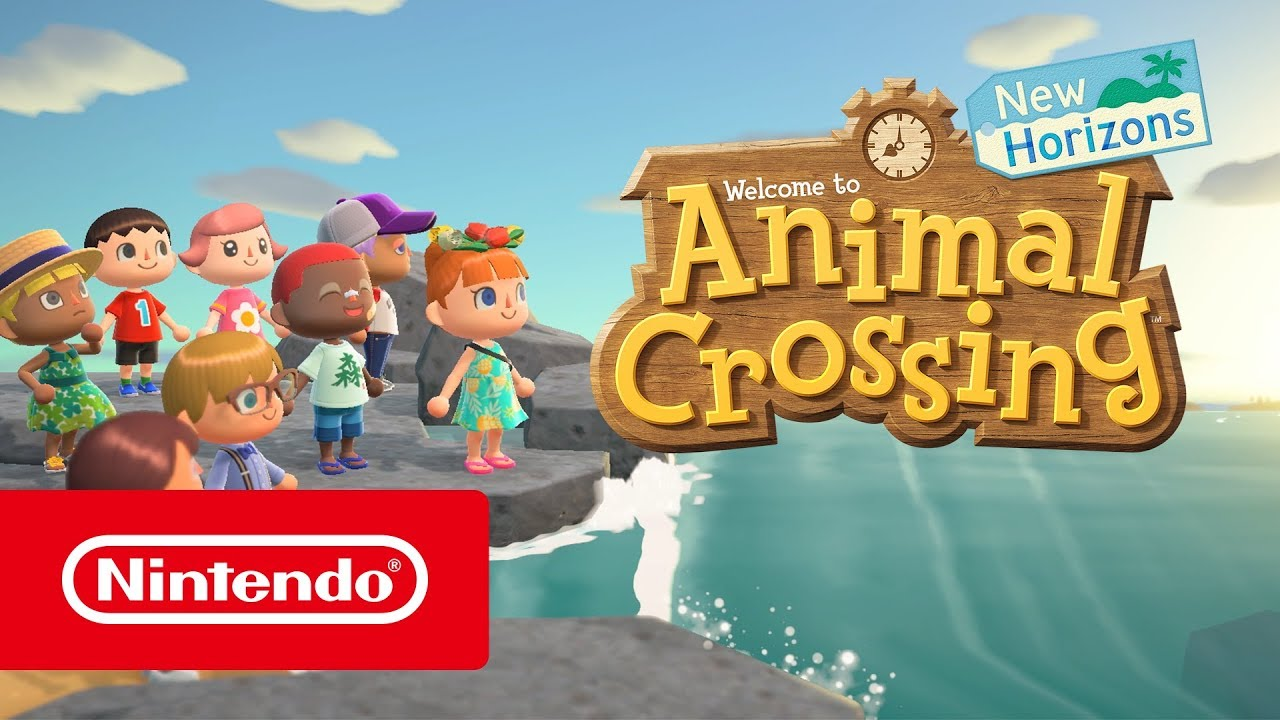 nintendo switch game animal crossing newhorizons