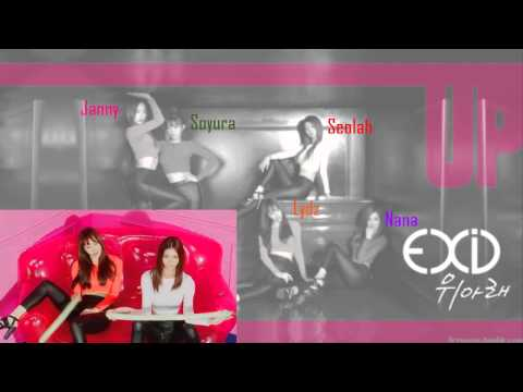 {COLLAB + ACAPELLA} EXID(이엑스아이디) - Up & Down ('위아래') GROUP 1