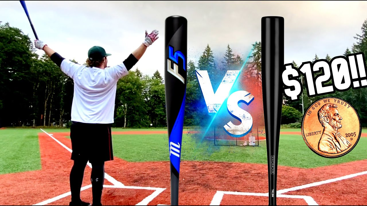 Marucci F5 vs. Stringking Metal - Budget Bat Showdown - BBCOR Baseball Bat Reviews