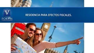 Residencia para efectos fiscales. DIAN [Derecho Tributario]
