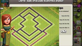 Aldea Para Base De Guerra Ayuntamiento 8 Clash Of Clans