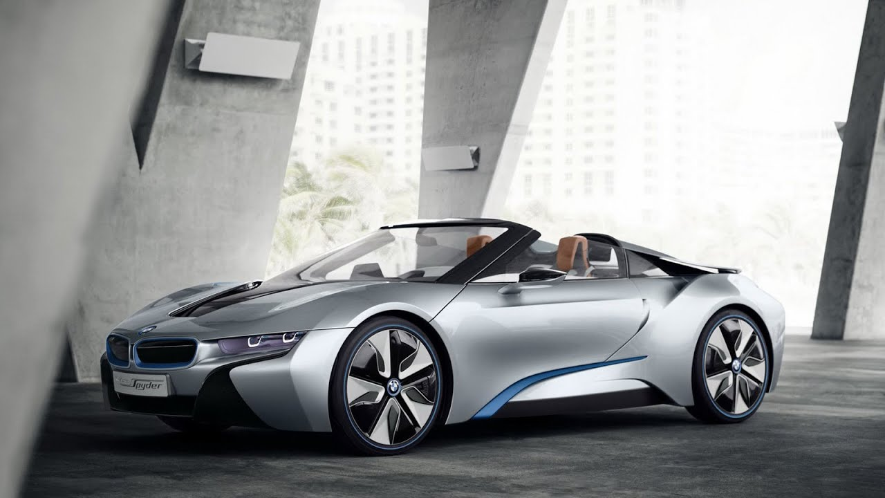 2017 BMW i8 Spyder Review Rendered Price Specs Release Date - YouTube