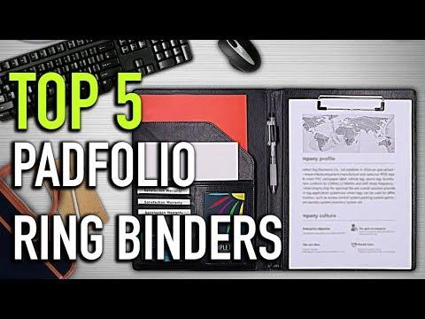 TOP 5: Padfolio Ring Binders