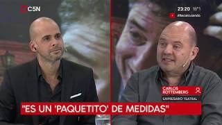 Carlos Rottemberg en Recalculando con Julián Guarino