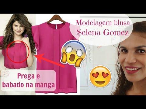 Modelagem de blusa