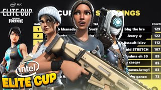 How We Placed 2nd in the INTEL ELITE CUP ($2,000) | Bugha