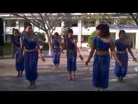 Múa Ấn Độ - Trường THPT Anh Hùng Núp - KBang - Gia Lai