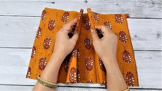 WOW !!! Just One Stich and A Bag Ready | Easy Bag Making at Home