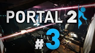 Śmiercionośne lasery :O | Portal 2 #3