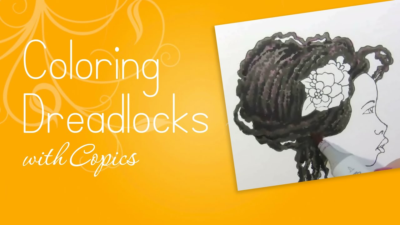 Coloring Dreadlocks - YouTube
