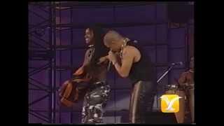 King Africa, Grandes éxitos, Festival de Viña 1995