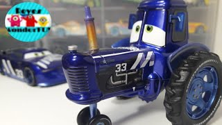 Cars 3 Ed Truncan Mood Springs Tractor #33 chaser series scale 1:43 Disney store review