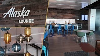 Alaska Lounge JFK T7 FULL REVIEW