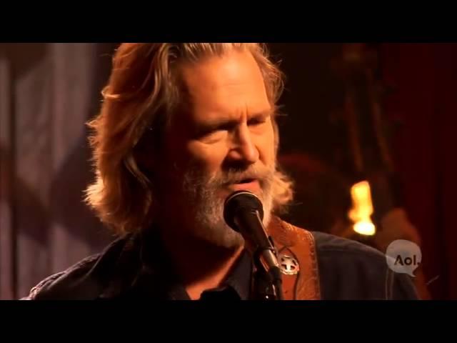 Jeff Bridges Fallin And Flyin Live Youtube