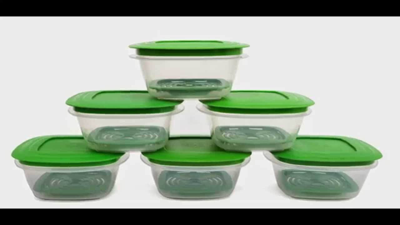 Cutting EDGE Veggie Fresh Refrigerator Storage Containers YouTube