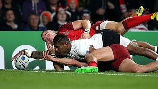 Top 5 try saving tackles week #1 - Rugby World Cup 2015