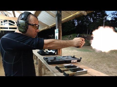 PT 1911 Teste primeiros tiros