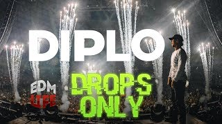 Diplo @ Lollapalooza Chile 2017 | Drops Only |