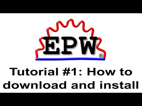 EPW Main/Download And Install