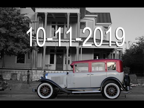 Historic Downtown Monroe NC Cruise In 10-11-2019